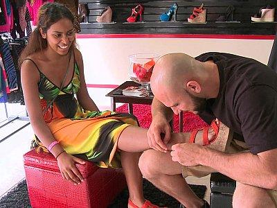 Money Talks shoe store