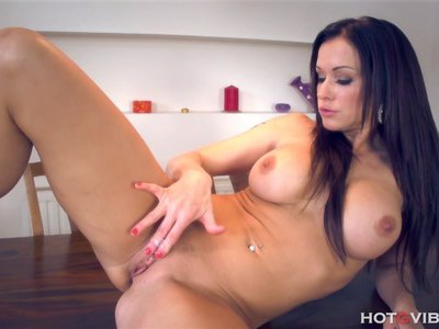 MILF Stacy and her new toy