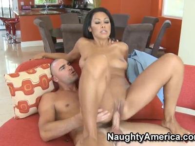 Tight ass Cassandra Cruz pleasures Charles Dera