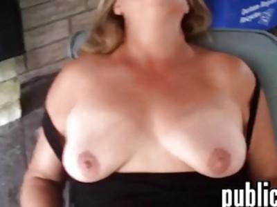 Fat Mature Woman Masturbating