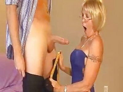 Granny Accidentally Touches Young Guys Cock