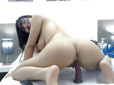Sexy Slut Having a Nice Masturbation Show