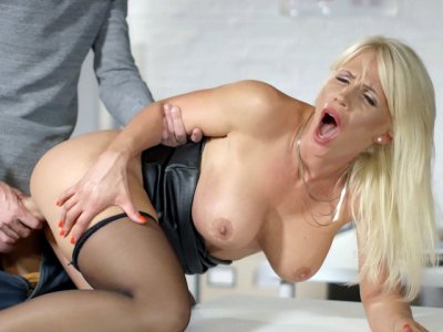 Busty mom Tiffany Rousso gets fucked from behind
