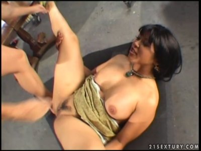 Mika Tan opens her legs for tattooed stallion