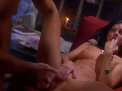 Poses and exposed India Summer gets missionary fucked