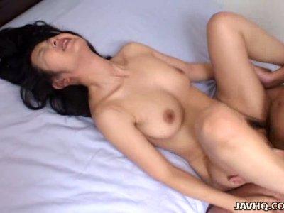 Insanely arousing oral sex video starring Kyoko Hayama