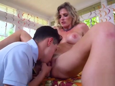 Amateur milf sucks young cock Gobble On The Pussy Not The Pie