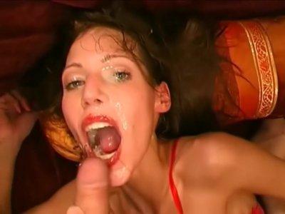 Viktoria Goo is on a sperm diet