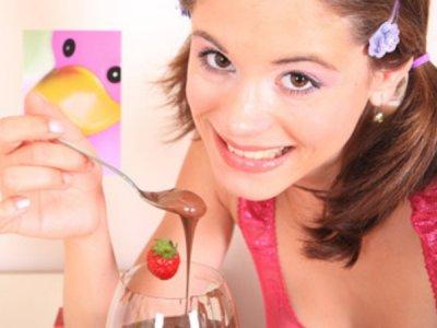 18yo teen really loves chocolate
