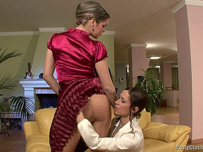 Fine lesbian evening