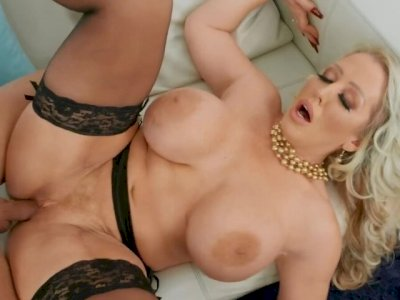 Quinton James pushes his big cock in busty blonde Alura TNT Jenson