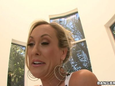 Bootylicious Brandi Love teasing you with her gorgeous assets