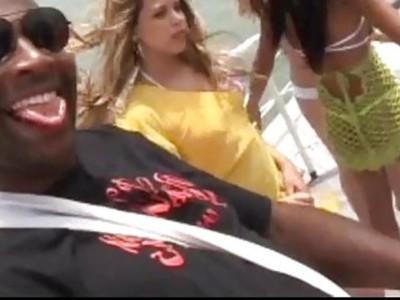 brazilian gangbang on yacht party