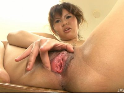 Horny and angry Reina Sakai plays solo in classroom