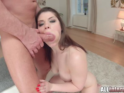 All Internal Hard anal for British pornstar Lucie
