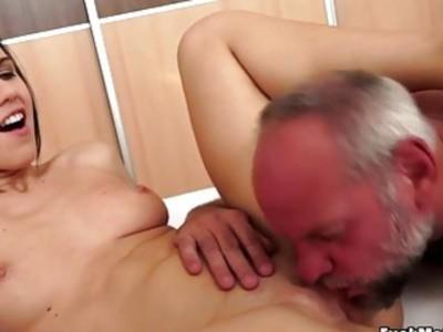 Valeri likes an old guy