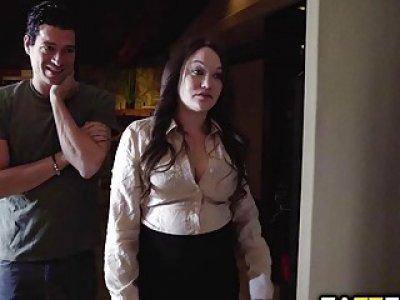 Xander Corvus doggy fuck Astrid Stars pussy