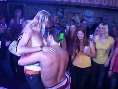 Bawdy cleft poundings for babes during orgy party