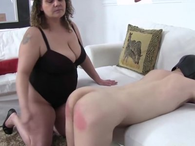 Lady Tiger Enjoy Her Slave - Female Supremacy in Hungary Way