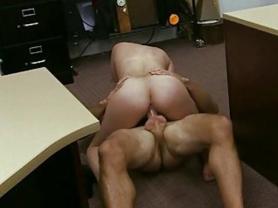 Cuban chick pussy fucked at the pawnshop