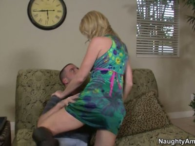 Caring cougar Desiree Dalton wants to take care of young dude