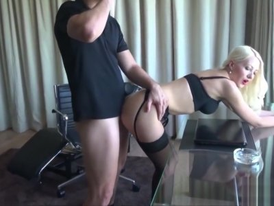 GERMAN TEEN LUCY SEDUCE TO FUCK by her Sugardaddy for Money