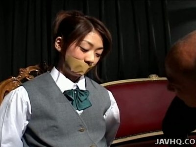 Student Koyuki Kishide has to be ready for a casual sex with horny stud