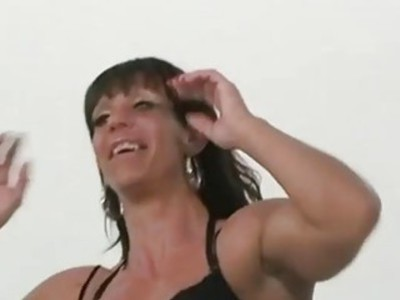 Muscle diva Helen shows what she's got
